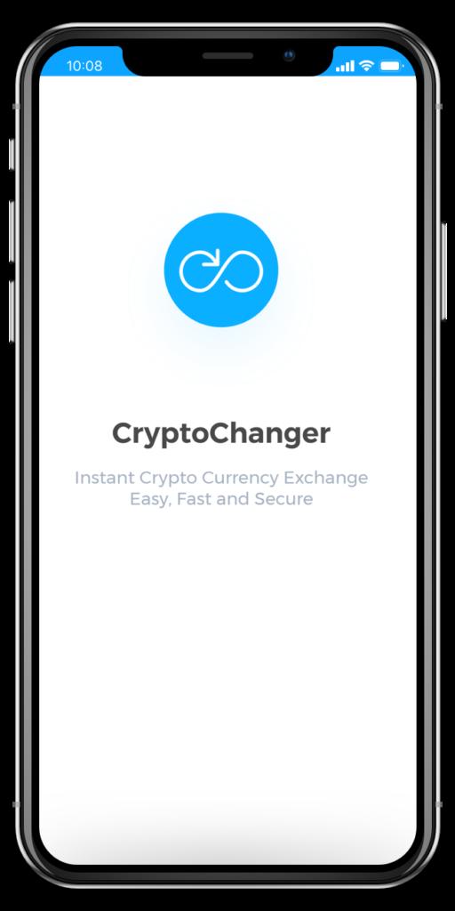 CryptoChanger iOS App